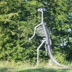 replica iguanodont Blaton