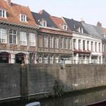huizen aan het water Tournai