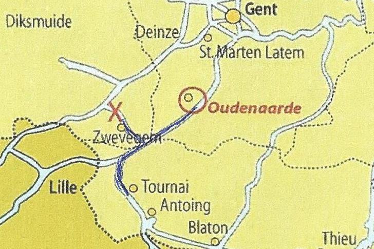 Midweek naar Tournai