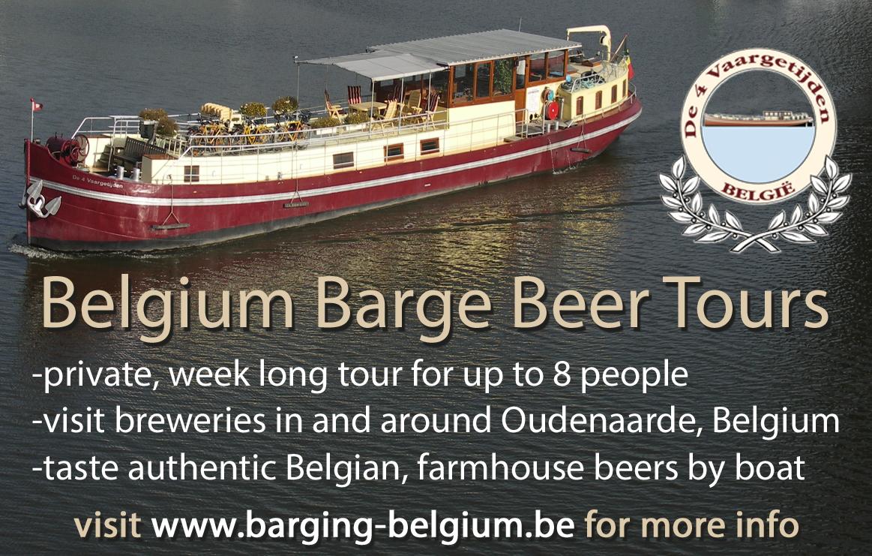 Belgium Barge Beer Tours