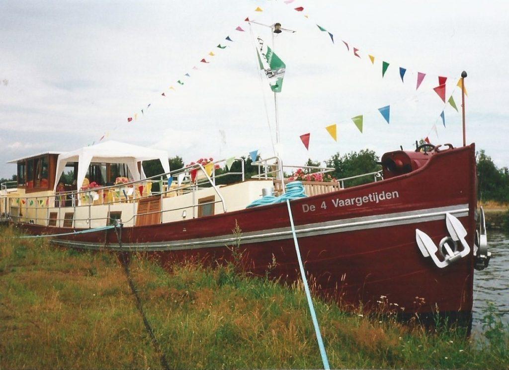gepavoiseerd schip