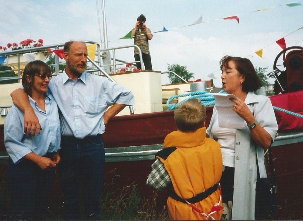 Speech bij de doop